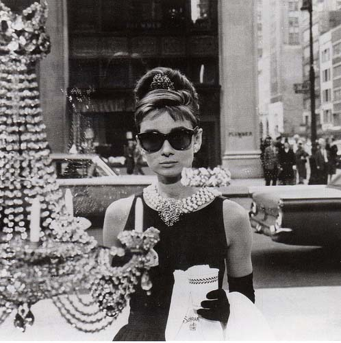 Audrey Hepburn's stylish beehive.