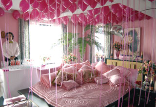 Betsey Johnson's apartment