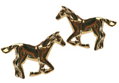 Stallion post earrings
