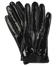 Miu Miu patent leather gloves