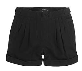 Pringle 1815 twill pleat-front shorts