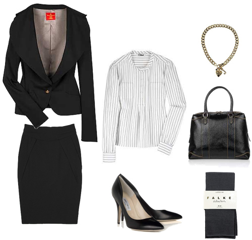 What To Wear To A Job Interview - Gala Darling