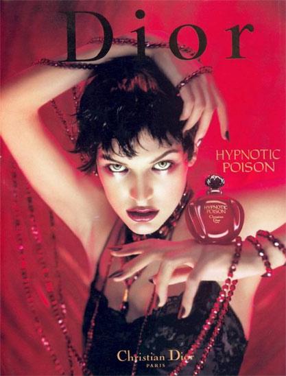 Dior Hypnotic Poison Fragrance 1998 AD Campaign VS 2008 AD Campaign