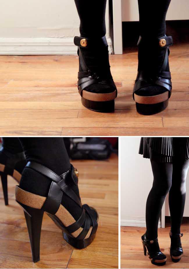 ... sleehakken zorgen vaak voor zo'n klompvoetje, zeker als de schoen: forum.scholieren.com/showthread.php?t=1798794