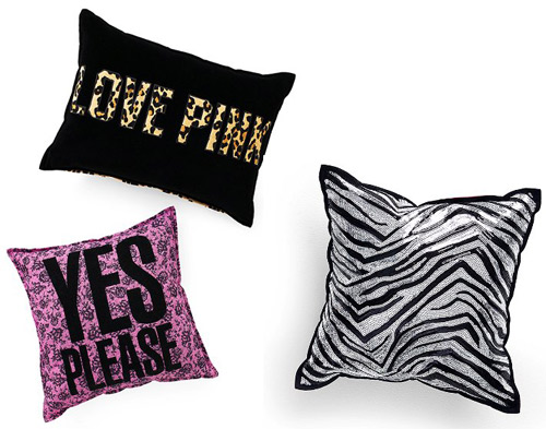 Juicy Couture Starburst Throw Pillow