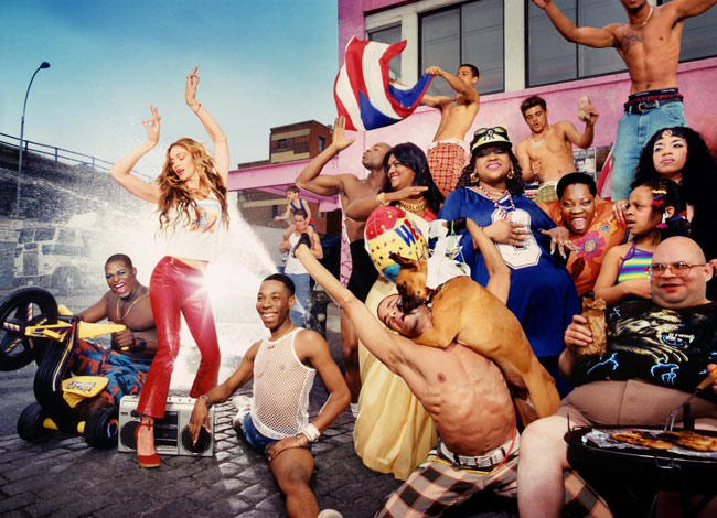 Madonna by David Lachapelle