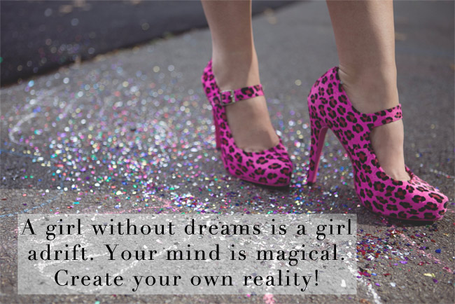 A girl without dreams is a girl adrift...