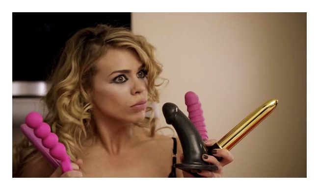 Billie Piper in The Secret Diary Of A Call Girl