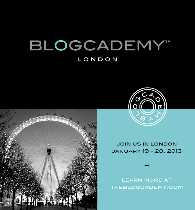 The Blogcademy: London!