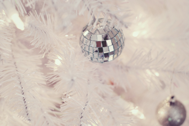 Deck The Trees With Disco Balls...