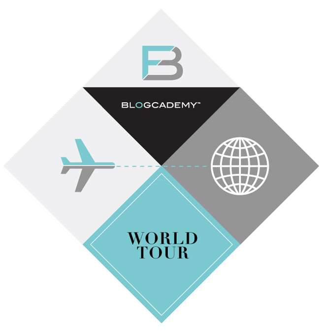 Announcing: The Blogcademy World Tour!