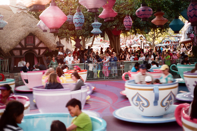 A Dizzying Day At Disneyland