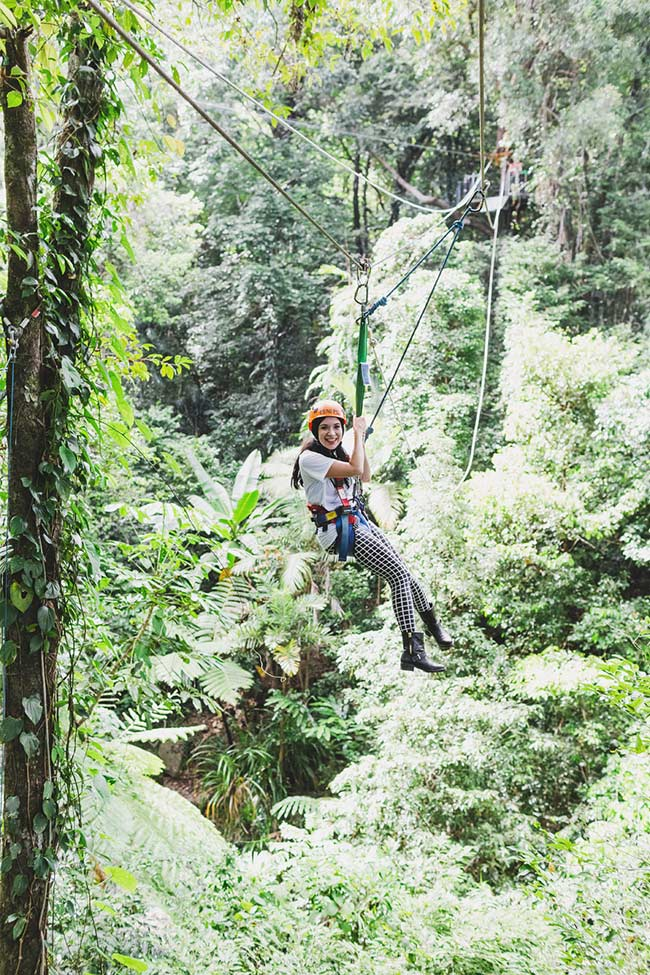 On Dangling Upside Down In The Rainforest
