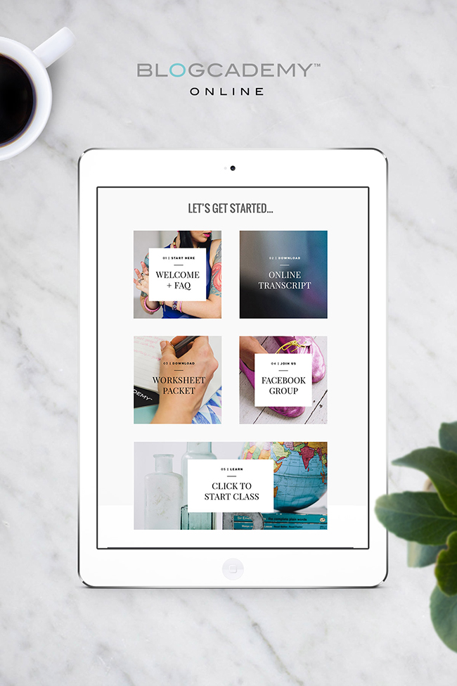 Blogcademy Online