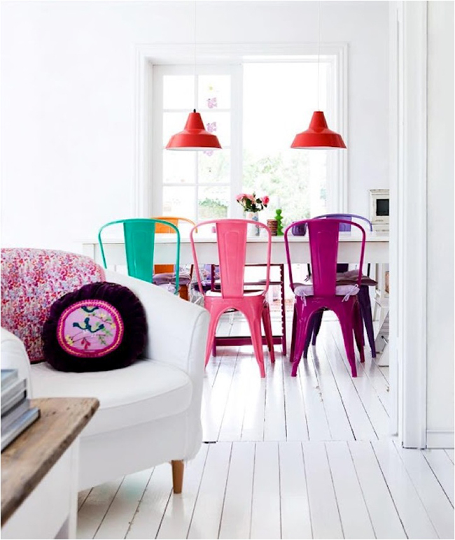 5 Steps To Create A Fun, Eclectic, Colourful Living Room