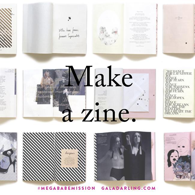 #megababemission: Make A Mini Zine!