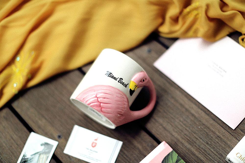 flamingo mug 1