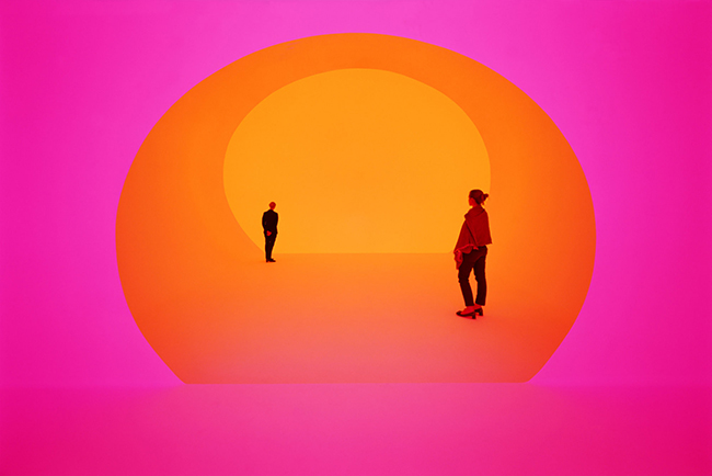 James Turrell art installation