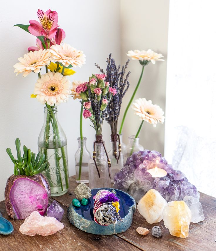 Flowers, Crystals And Sacred Spaces: How To Create An ...