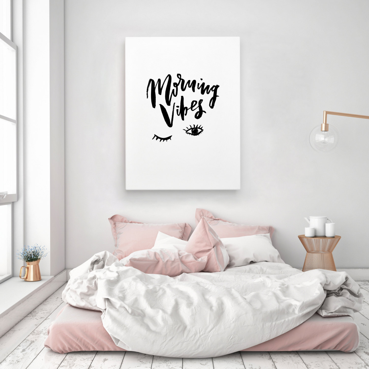 Sacred mornings experience your full radiance while the Decorating walls with posters